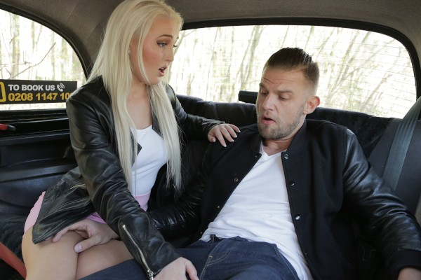 Bad driver hits and fucks passenger ft Lovita Fate - FakeHub.com