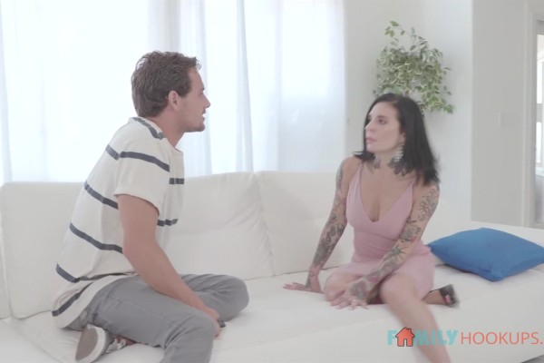 Tattooed Vixen Joanna Angel screws her stepson to get even with her cheating husband