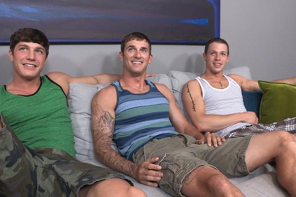 Brandon, Peter & Duncan: Bareback - Best Gay Sex
