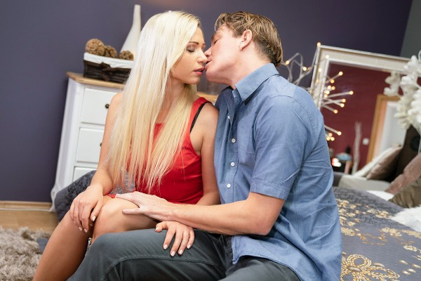 Creampie pounding for German blonde at SexyHub.com