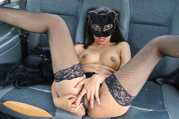 Watch Masked Maya in Role play pussy cat fantasy fuck