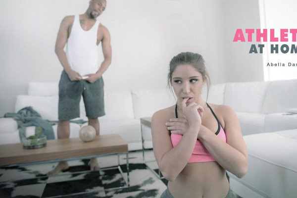 Athlete at Home - Abella Danger, Jovan Jordan - Babes