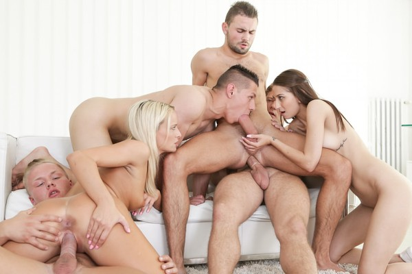 Let's Orgy! Scene 3 Bisexual Orgy on Bi Empire with Christian Dean
