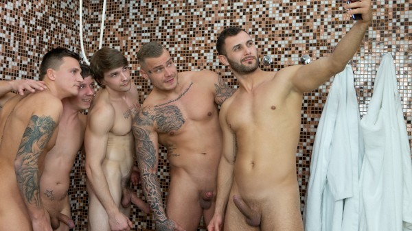 Watch Dudes in Public 45 – Bathhouse on Male Access - All the Best Gay Porn in One place