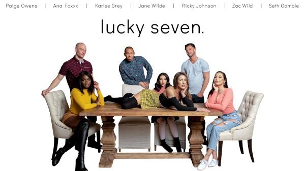 Lucky Seven - Seth Gamble, Karlee Gray, Ana Foxxx, Jane Wilde, Ricky Johnson, Zac Wild, Paige Owens