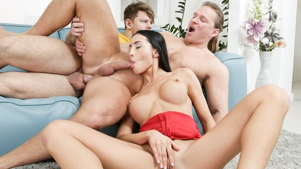 Swing with Us Scene 1 Bisexual Orgy on Bi Empire with Anna Rose