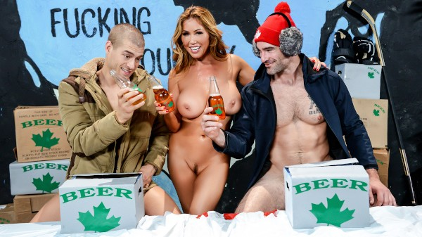 Happy Canada Day, Eh? - Brazzers Porn Scene