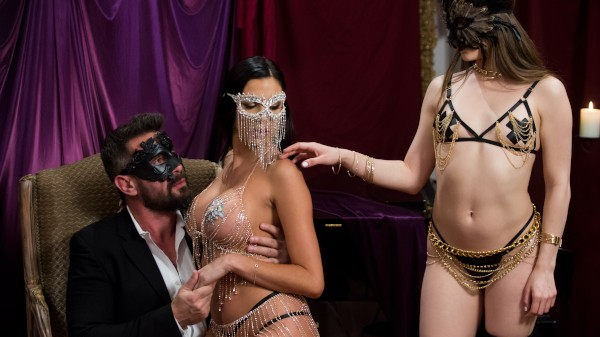 ZZ Nuit Rouge - Brazzers Porn Scene
