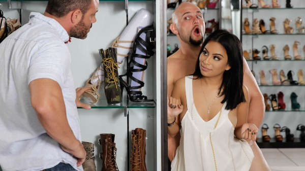 If The Shoe Fits - Brazzers Porn Scene
