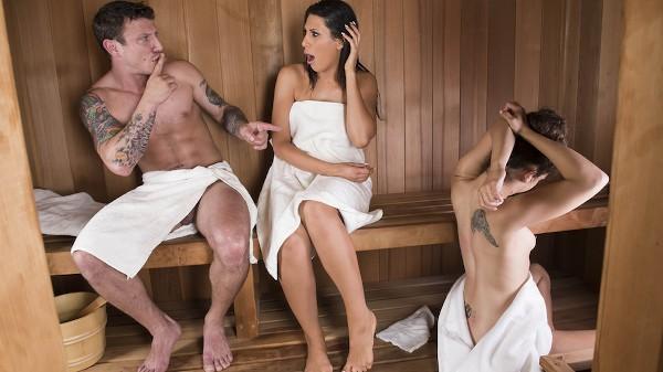 Sneaky Sauna Mama - Brazzers Porn Scene