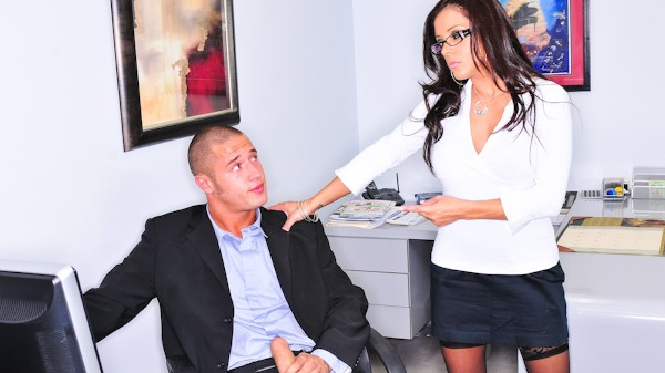Office Perverts Scene 2 Porn DVD on Mile High Media with Francesca Le