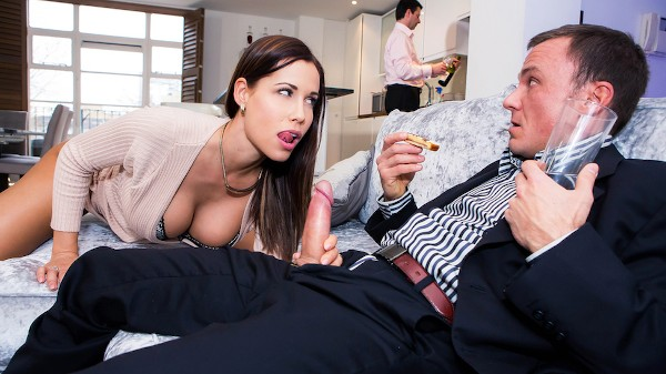La Esposa de mi Terrible Jefe - Brazzers Porn Scene