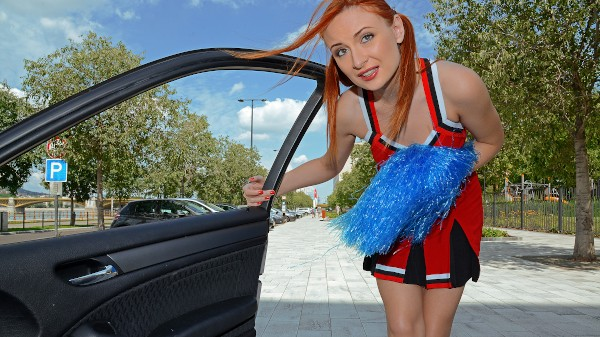 Watch Eva Berger in Redhead Cheerleader Gets Fucked