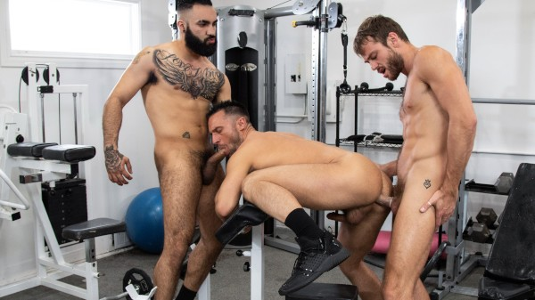 Enjoy Blended Family Scene 1 on Taboomale.com Featuring Colby Tucker, Max Adonis, Zaddy