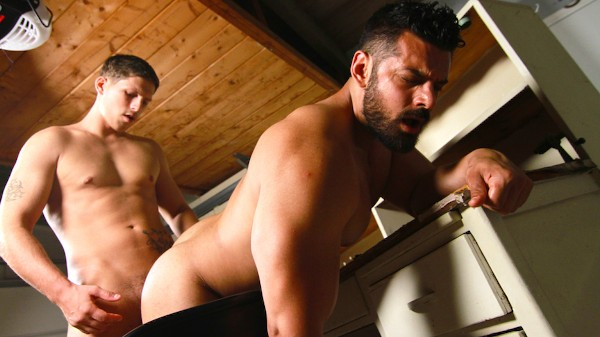 Watch Roman Todd, Marcus Ruhl in The Garage Part #1, Scene 1