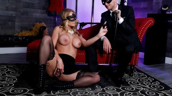 Masquerade Ball-Sucking - Brazzers Porn Scene