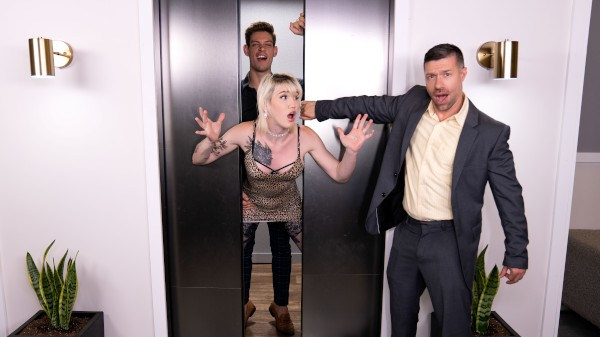 Watch Closing Doors Opening Legs featuring Lena Moon, Michael DelRay Transgender Porn