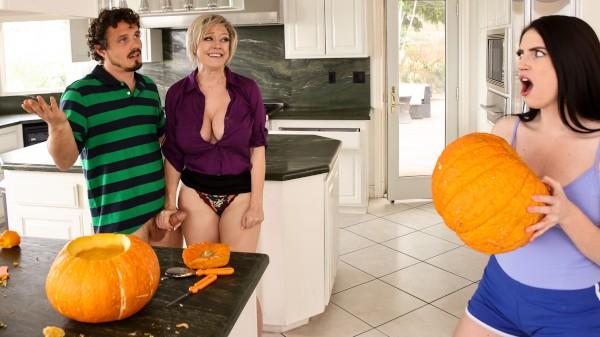 Enjoy Sneaky Pumpkin on Milfed.com Featuring Robby Echo, Dee Williams