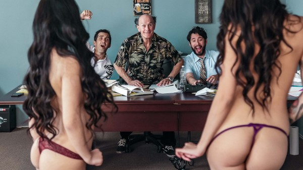 The Gang Makes a Porno: A DP XXX Parody Episode 2 Hardcore Kings Porn 100% XXX on hardcorekings.com starring Jade Kush, Brenna Sparks, Tommy Pistol