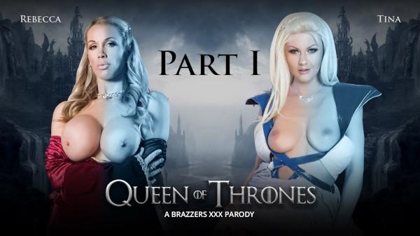 Queen Of Thrones: Part 1 (A XXX Parody) - Brazzers Porn Scene