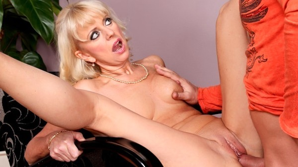 Granny Fucked My Boyfriend Scene 2 Porn DVD on Mile High Media with Merylin, Thomas