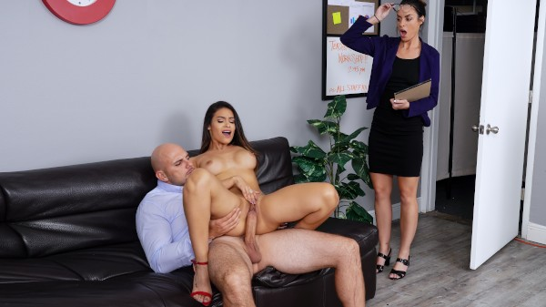 Teachers' Lounge - Brazzers Porn Scene