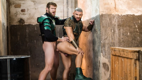 Enjoy Just Dick League : A Gay XXX Parody Part 2 on Twinkpop.com Featuring Colby Keller, Francois Sagat