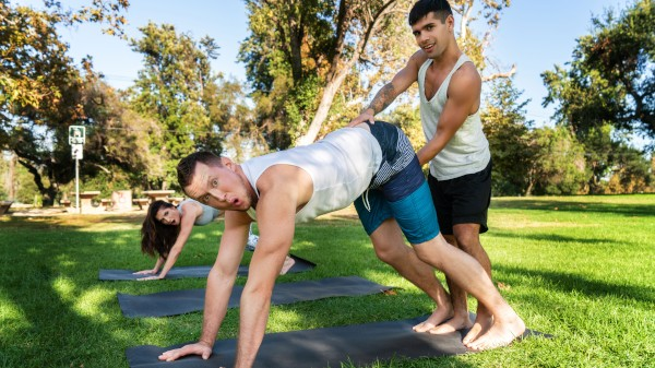 Power Yoga Part 4: Bareback - feat Pierce Paris, Ty Mitchell