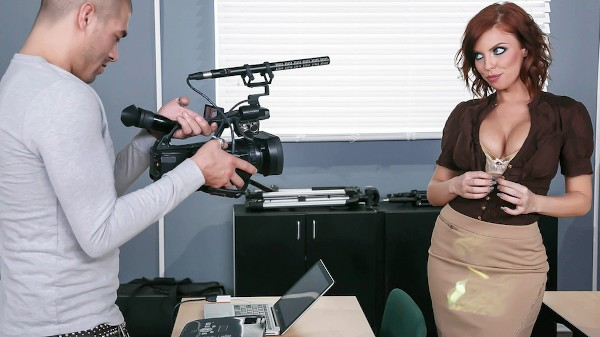 Titty Film School - Brazzers Porn Scene