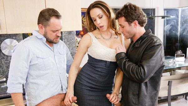 DP My Wife With Me Scene 1 Porn DVD on Mile High Media with Alec Knight, Chanel Preston, James Deen