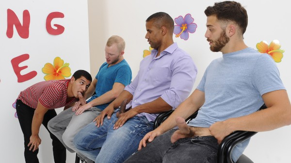 The Gay Dating Game - feat Rocco Reed, Tommy Defendi, Tony Newport, Robert Axel, Zane Michaels