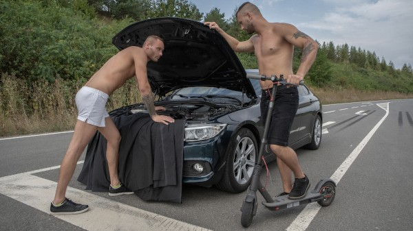 Watch Roadside Breeding on Male Access - All the Best Gay Porn in One place