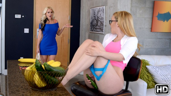 Right Down The Slit with Alena Croft, Haley Mae at momslickteens.com