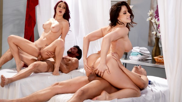 Best Of Brazzers: Massage Mania - Brazzers Porn Scene