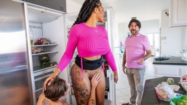 Enjoy Milf Fucks Slob Stepson on Milfed.com Featuring Nathan Bronson, Halle Hayes