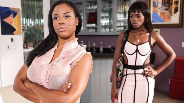Lesbian Beauties #11 _ All Black Scene 1 Porn DVD on Mile High Media with Alia Starr, Ana Foxxx