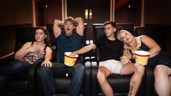 Enjoy Buttering His Popcorn on Twinkpop.com Featuring Joey Mills, Felix Fox