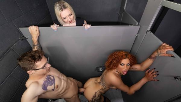 Watch Public Fuck With The Voyeur featuring Rubi Maxim, Jayden Marcos Transgender Porn