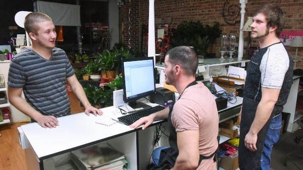 Dudes In Public 20 - Flower Shop - Brent Walker, Brogan Reed, Justin Dickson