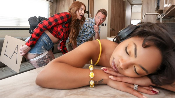 The Road Trip: Raunchy RV-ing - Brazzers Porn Scene
