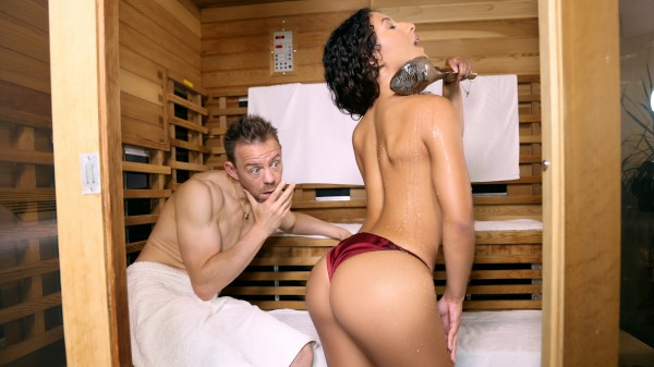 Watch Erik Everhard, Liv Revamped in Sauna Seduction