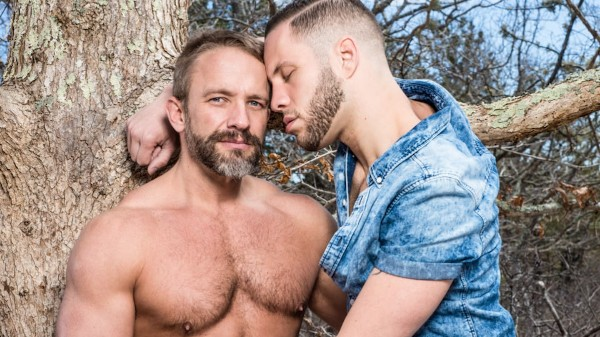 Guys Kissing Guys Scene 4 - Dirk Caber, Wolf Hudson