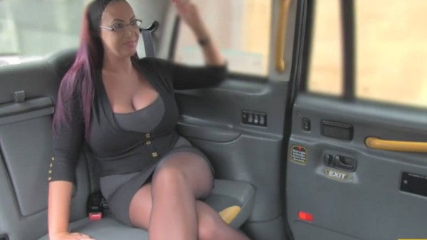 Watch in Secretary looking lady with huge tits and wet pussy