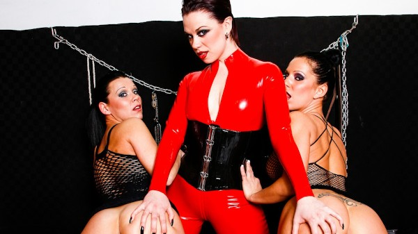 Lesbian Fetish School Scene 3 Porn DVD on Mile High Media with Jenny G, Kream, Mistress V