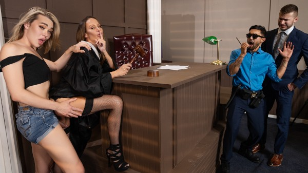 Watch Penetration, Your Honor! featuring McKenzie Lee, Emma Rose Transgender Porn
