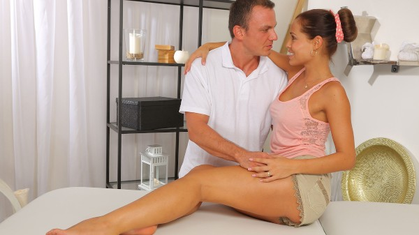 Oil Massage Makes Sex Easier at SexyHub.com