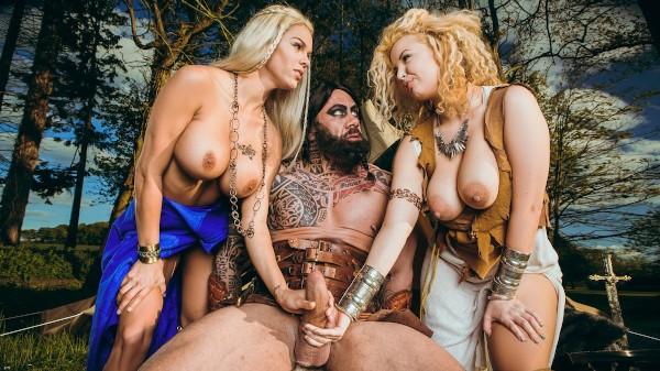Storm Of Kings XXX Parody: Part 2 - Brazzers Porn Scene