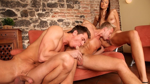 Bi Curious Couples Scene 2 Porn DVD on Mile High Media with Alex Monetti, Denis Reed, Kitty Jane