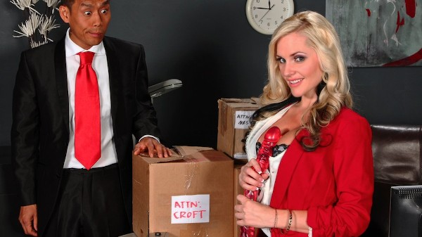 Big Package for a Little Pussy - Brazzers Porn Scene