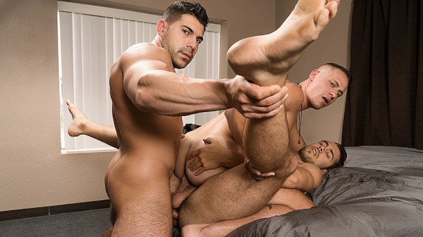 Watch Dante Colle, Aston Springs, Damien Stone in Keep Watching, Scene 1